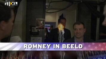 RTL Nieuws Romney in beeld