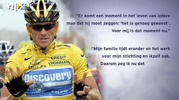 RTL Nieuws Armstrong is tourzeges kwijt