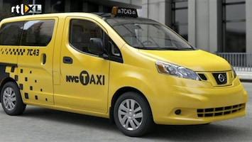 RTL Z Nieuws Goodbye Yellow Cab: Nissan levert de komende 10 jaar taxi's aan New York
