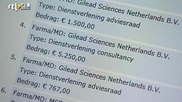 RTL Nieuws Artsen krijgen vele miljoenen van medicijnindustrie