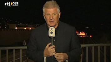 RTL Nieuws 'Bizar om op rampplek Zwitserland te staan'