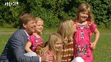 RTL Nieuws Oranjes poseren voor de pers