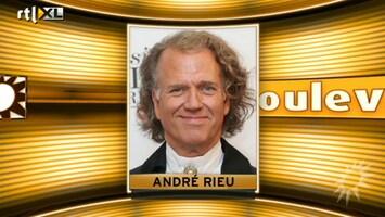 RTL Boulevard Andre Rieu zit Eurovisiesongfestival Denemarken in de weg
