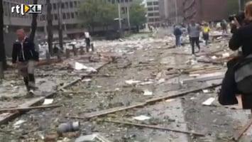 RTL Nieuws Eerste beelden explosie Oslo