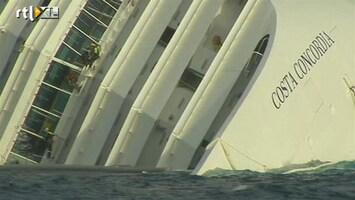 RTL Nieuws Olieberging Costa Concordia moeilijk door storm