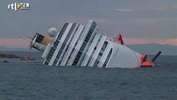RTL Nieuws Gestrand cruiseschip milieu-tijdbom