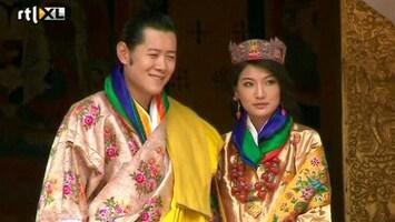 RTL Nieuws Kleurrijk feest voor koning Bhutan
