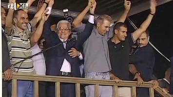 RTL Nieuws President Abbas verwelkomt vrijgelaten Palestijnen