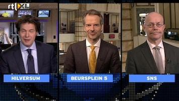 RTL Z Voorbeurs Er is geen plan B en ook geen C