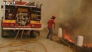 RTL Nieuws Honderden brandweermannen strijden tegen bosbranden Portugal
