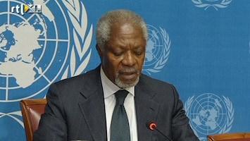 RTL Nieuws Kofi Annan verwijt VN-Veiligheidsraad slap optreden
