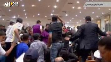 RTL Nieuws Knokpartij in rechtszaal na veroordeling Mubarak