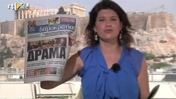 RTL Nieuws 'Anti-Europese Syriza ruikt de macht'