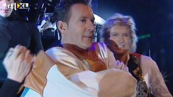 RTL Boulevard Hans Klok oefent met Gerard Joling