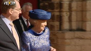 RTL Nieuws Beatrix voor het laatst op pad als koningin