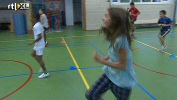RTL Nieuws Elke dag gym tegen te dikke kinderen