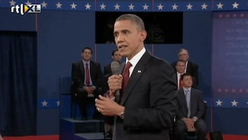 RTL Nieuws Obama: 'Romney is geen Bush, hij is extremer'
