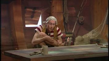 Piet Piraat Kleren verwisseld