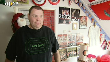 Voetbalfans Een klein Feyenoord museum