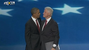 RTL Nieuws Clinton speecht: Ik geloof in Obama