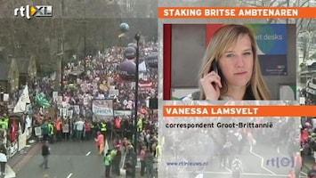 RTL Nieuws Britse ambtenaren leggen werk neer