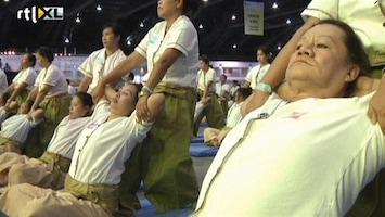 RTL Nieuws Thais wereldrecord massage
