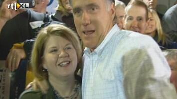 RTL Nieuws Mitt Romney wint Iowa met acht stemmen verschil
