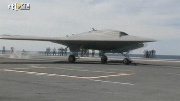 RTL Nieuws Amerikaanse drone zo groot als straaljager