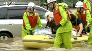 RTL Nieuws Tyfoon raast over Fukushima