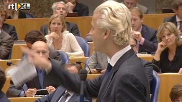 RTL Nieuws Wilders: CDA moet toontje lager zingen