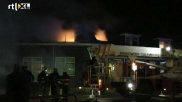 RTL Nieuws Gewonden bij uitslaande brand Culemborg