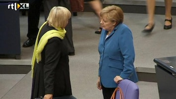 RTL Nieuws Merkel wil geen concessies doen in Europa