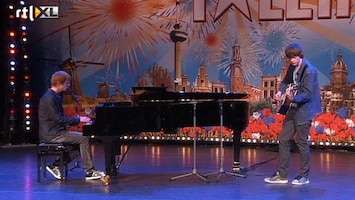 Holland's Got Talent Mark en Max (zang)
