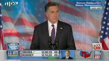 RTL Nieuws Romney feliciteert Obama met overwinning