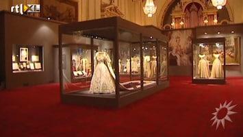 RTL Boulevard Tentoonstelling over kroning in Buckingham Palace