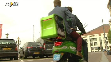 RTL Nieuws Scootertaxi doet z'n intrede in Amsterdam