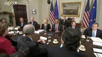 RTL Nieuws Rutte voor het eerst op bezoek bij Obama