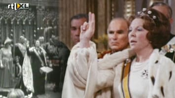 RTL Nieuws Historische beelden troonsoverdrachten
