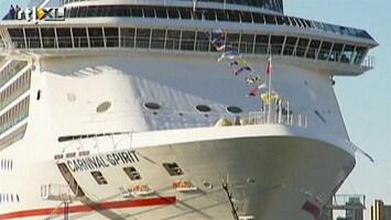 RTL Nieuws Jong stel verdwenen tijdens cruise