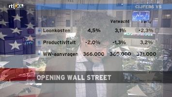 RTL Z Opening Wallstreet Afl. 27