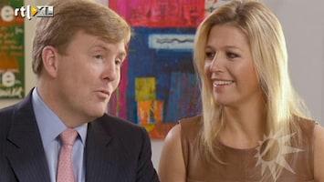 RTL Boulevard Linda spreekt Willem Alexander en Maxima