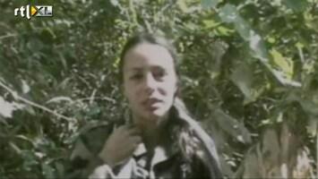 RTL Nieuws Tanja Nijmeijer bij vredesonderhandelingen met FARC