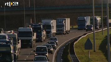 RTL Nieuws Actie van truckers leidt nauwelijks tot overlast