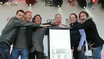 RTL Boulevard Start 538 voor War Child met Di-rect, Glennis