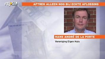 RTL Nieuws Hypotheekrente wordt verder ingeperkt