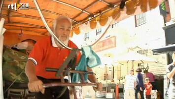 RTL Nieuws Chinese boer fietst naar Olympische Spelen
