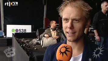 RTL Boulevard Armin van Buuren klaar voor zijn koningsnummer