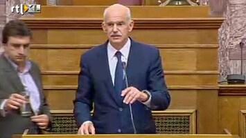 RTL Nieuws Griekse premier buigt