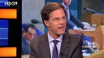 RTL Nieuws Premier Rutte te gast in RTL Boulevard