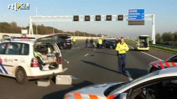 RTL Nieuws 'Inrijder filefuik ziet zichzelf als slachtoffer'